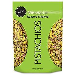 Wonderful Pistachios, No-Shell, Roasted ...