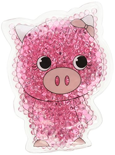 TheraPearl Children's Pals, Pearl The Pig, Non Toxic Reusable Animal Shaped Hot Cold Therapy Pack, Flexible Compress for Injuries, Swelling, Pain Relief, Bee ()