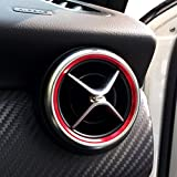 Car Air Condition Air Vent Outlet Ring Trim Decoration for Mercedes Benz AMG