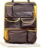 My Milestones Foldable Baby Car Travel Organizer -Grey