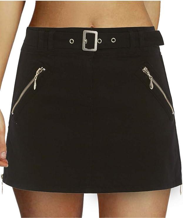 Damen Minirock in schwarz