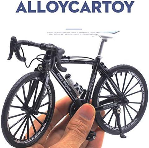 1:10 Escala Diecast Bicicleta Modelo Ciudad Plegado Ciclismo Bicicleta de Carretera para colecci/ón Colecci/ón de Juguetes Decorativos Die Casting Toy