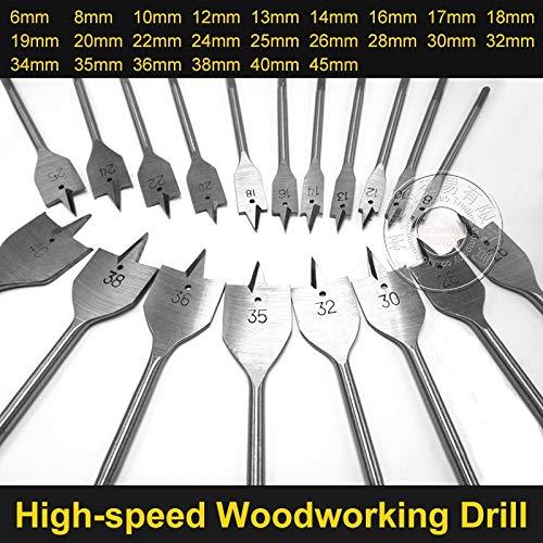 Dart Wood Flat//Spade Bits 22mm 30mm 32mm 38mm