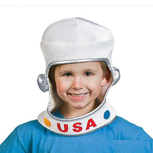 Soft Fabric Child Size Astronaut Helmet by Fun Express (Costume Space Helmet)