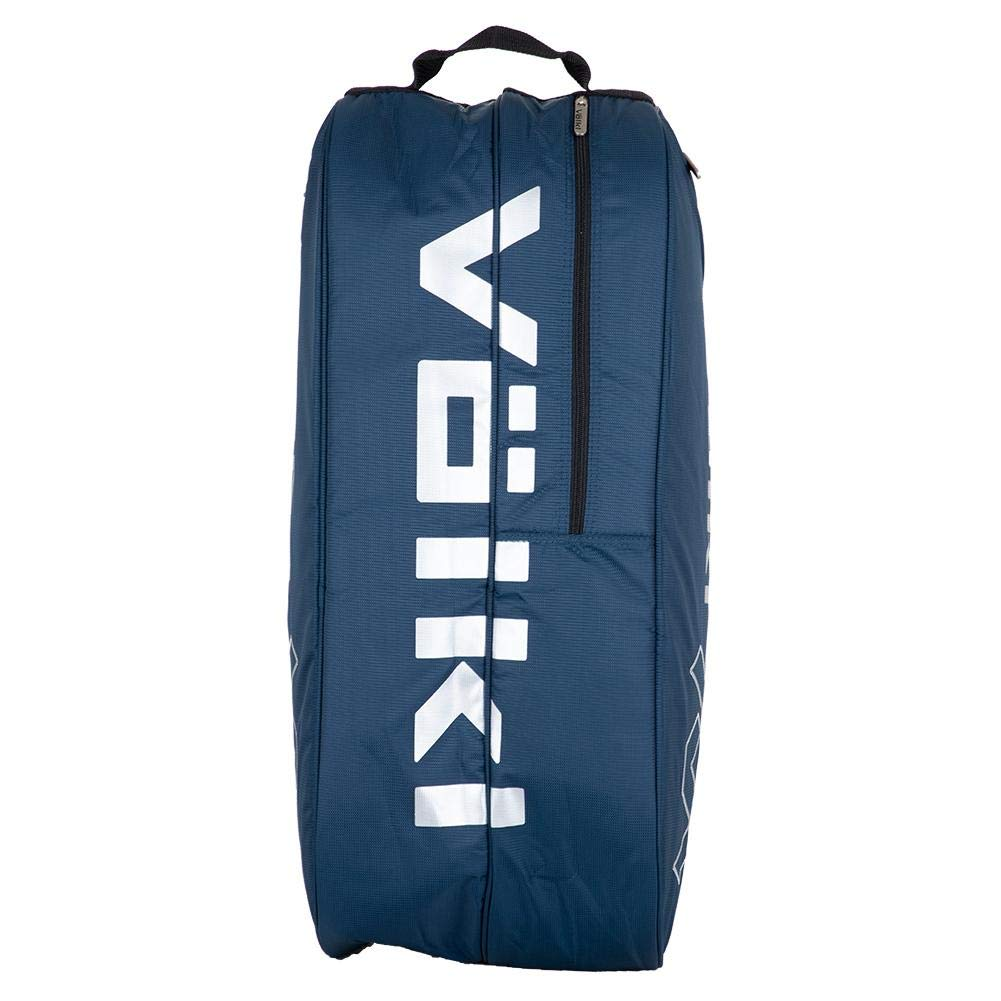 Volkl Team Combi Tennis Bag Navy and Silver - TennisExpress
