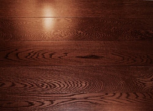 25.2SF AMERIQUE Prefinished 3-Layer Engineered Oak Merlot Hardwood Flooring 5-1/8