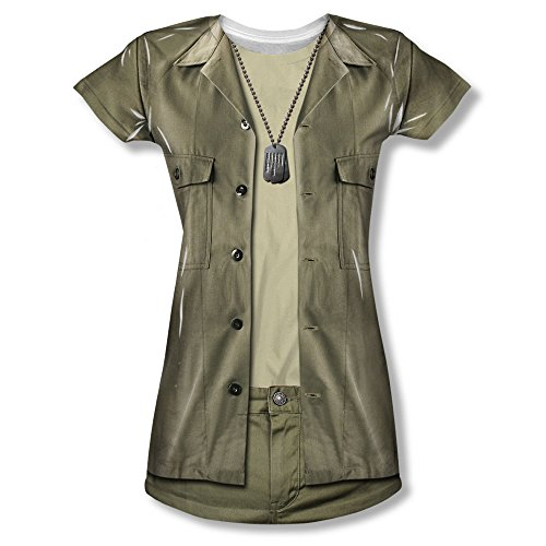 Mash Radar Costume (MASH - Junior's T-Shirt Hawkeye Costume , 2XL, White)