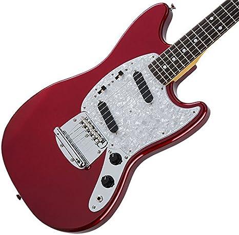 Fender tradicional 70s Mustang Juego cabeza (Candy Apple Red ...