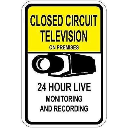 aqf527907 Señales de Advertencia de Circuito Cerrado de ...