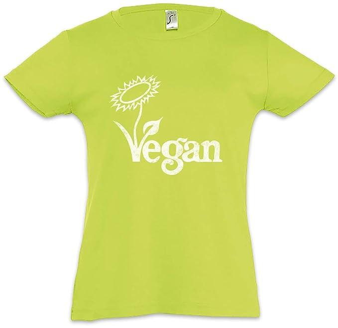 VINTAGE LOGO VEGAN GIRLIE SHIRT Veganismus Tierschutz Veganer Vegetarier Shirt