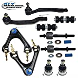 DLZ 10 Pcs Front Suspension Kit-2 Lower Ball Joint, 2 Upper Control Arm Ball Joint Assembly, 2 Outer 2 Inner Tie Rod End, 2 Sway Bar for 1994 1995 1996 1997 Honda Accord, 1997-1999 Acura CL