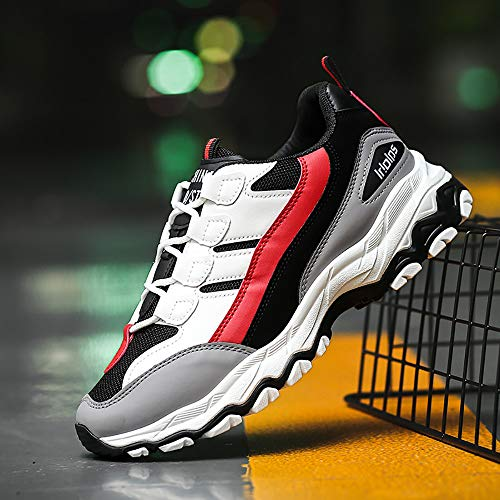 Da Scarpe In Sportive Rosso Running Eleganti Donna Ginnastica Stringate Offerta Corsa Yesmile Uomo Estive Sneakers t4Brq4a