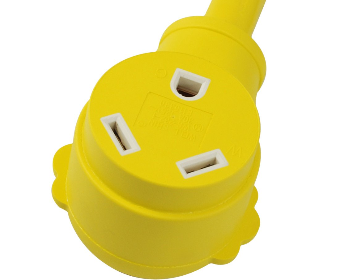 Conntek 14963: 50 Amps 14-50P to TT-30R & 5-15/20R Y-Adapter by Conntek (Image #7)