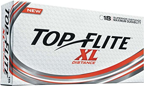 2016 Top Flite XL Distance White (18 Pack)