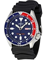 Seiko Mens SKX009K1 Blue Dial Divers Watch