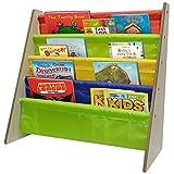 Sorbus STRG-BK4 Toddler Bookshelf-Colors Pockets Bookcase