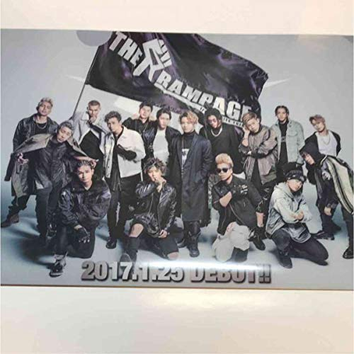 THE RAMPAGE クリアファイル EXILE   B07QV2DVWW