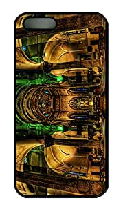 SUN VIGOR 5s Case Church Italy Hdr Durable and Comfortable iPhone 5s Cases Personalized Hard Black Cases