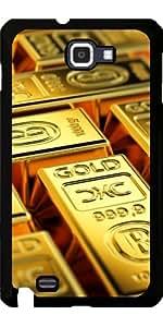 Funda para Samsung Galaxy Note GT-N7000 (I9220) - Barras De Oro by Carsten Reisinger