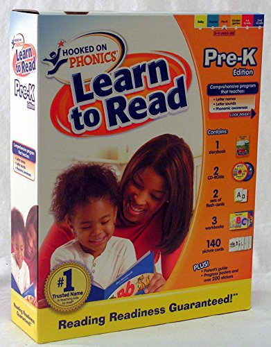 Hooked on Phonics - Learn to Read - Pre-K Edition