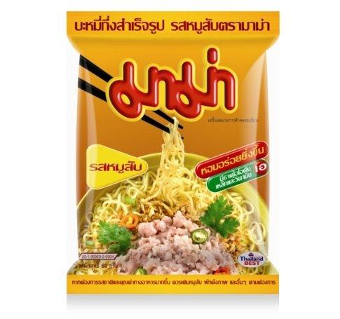 Mama Instant Noodle Soup Pork ()