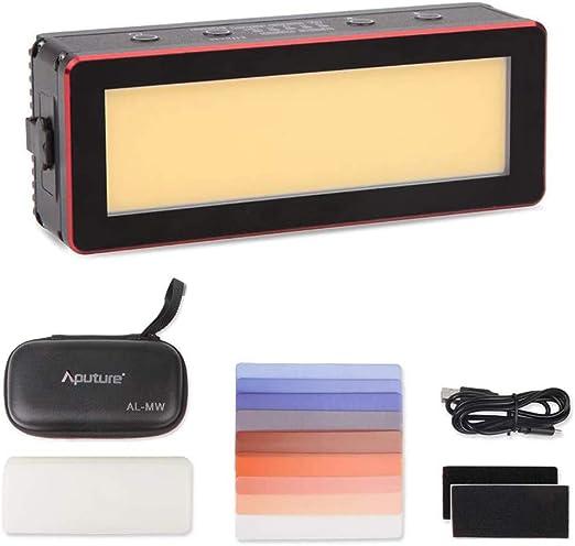 Aputure AL-MW Waterproof to 10m IP68 Pocket-Sized LED Video Light COB Mini Light 5500k,6000lux Output Twice Brighter Than Aputure AL-MX CRI95