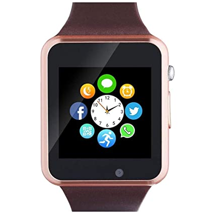 Amazon.com: WJPILIS Smart Watch Touchscreen Bluetooth ...