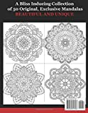 Mandalas of Bliss: ADULT COLORING BOOK FOR RELAXATION