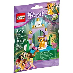 LEGO Friends Tiger's Beautiful Temple 41042 Building Kit