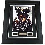 The Walking Dead Signed + The Walking Dead Film Cells Framed