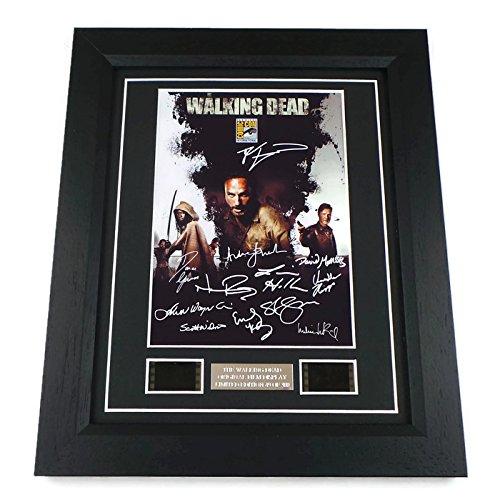 The Walking Dead Signed The Walking Dead Film Cells Framed Amazon