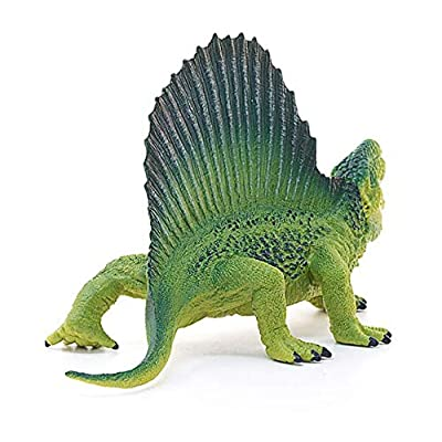 SCHLEICH Dinosaurs Dimetrodon Educational Figurine for Kids Ages 4-10: Toys & Games