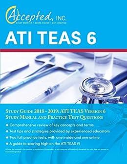Amazon com: ATI TEAS 6 Study Guide 2018–2019: ATI TEAS
