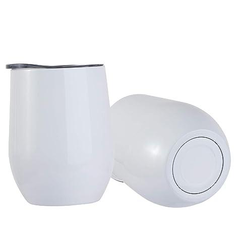 Amazon.com: Vaso de acero inoxidable para casa, oficina ...