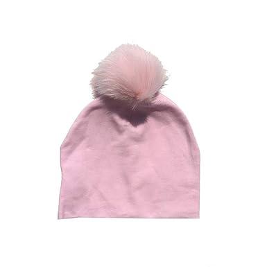 Los bebés grandes POM POM Sombrero Niños-Niñas de 6 meses Blanco Rosa Azul