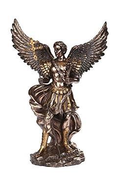 PTC 11.75 Inch Saint Gabriel Archangel Bronze Finish Statue Figurine