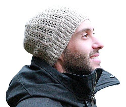 Fawn Beanie - Surhilo Mancora Alpaca Knit Beanie - Fawn - Winter Luxury Cap for Women, Men & Kids