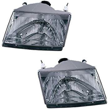 mazda pickup replacement headlight assembly 1 pair automotive. Black Bedroom Furniture Sets. Home Design Ideas