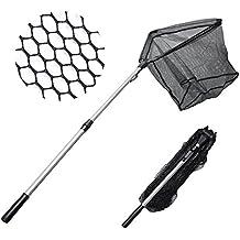 MadBite Fishing Net Safe Catch & Release Fish Landing Net, Foldable, Telescoping – Durable, Strong Yet Light Weight