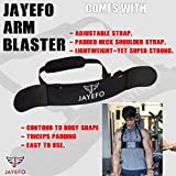 Jayefo Arm Blaster for – Arm & Bicep Support – Bicep Curl – Muscle Bomber for Biceps, Triceps, Arm Muscle Strength – Bicep Blaster Heavy Duty for Body Builders & Weightlifters.Biceps Isolator.