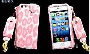 Thinkcase carryberry 4 4S Pattern Flower Leather phone case neck hanging wear strap rope cover for iphone 4 BC16