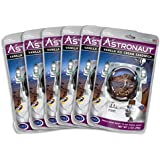 Astronaut Foods Freeze-Dried Ice Cream Sandwich, NASA Space Dessert, Vanilla, 6 Count