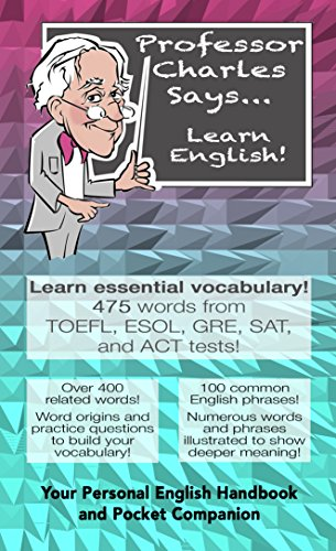 Download Professor Charles Says    Learn English! book pdf   audio