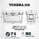 YETI Tundra 110 Cooler, White