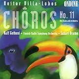 Choros 11 für Klavier und Orchester