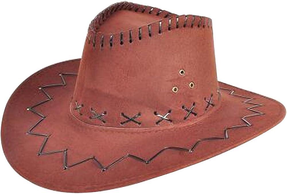 24station Western Cowboy Hat for Men Fashion Western Cowboy Hat Deep Yellow
