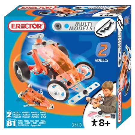 Buggy 2 Model Erector Set - Erector 2 Model Set - Buggy