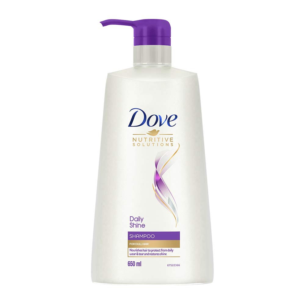 Buy Dove Daily Shine Shampoo, 650ml Online at Low Prices in India