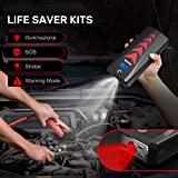 BUTURE Portable Car Jump Starter Kit, 2000A Peak