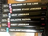 Lensmen Series, 6 Volume Set: Triplanetary / First Lensman / Galactic Patrol / Gray Lensman / Second Stage Lensmen / Children of the Lens